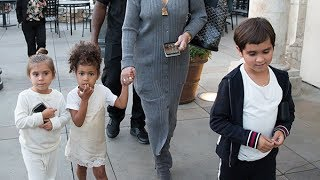 Kris Jenner Dotes On Kourtney & Scott's Kids As They Party With Flings In Cannes — Pic