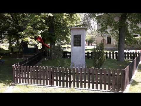 Podlešín - Pomník Obětem 1. A 2. Světové Války