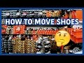 How To Pack Sneakers For a Move | Tips & Tricks