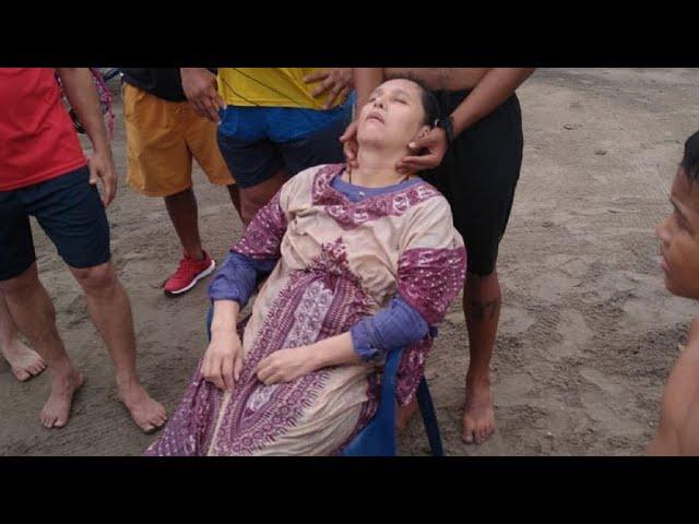Una mujer desaparecida hace dos años apareció viva flotando en el mar