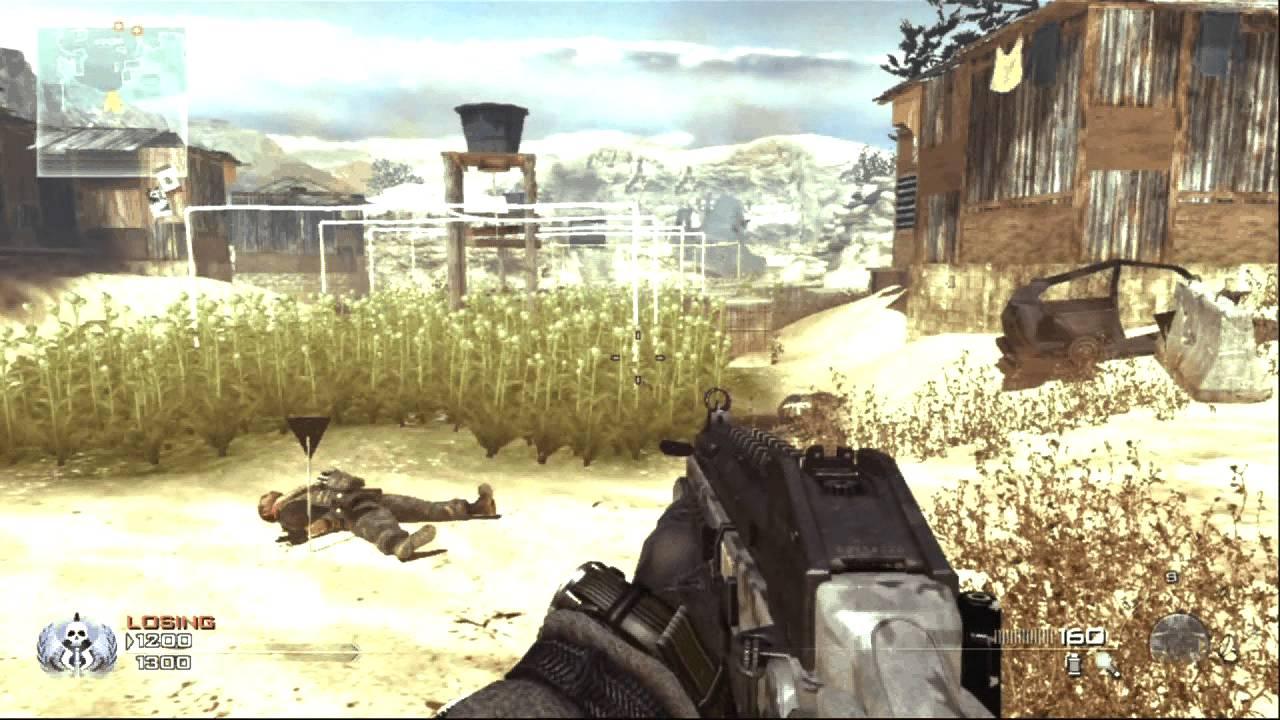 Modern Warfare 2 Glitch Out Of Afghan Map Youtube