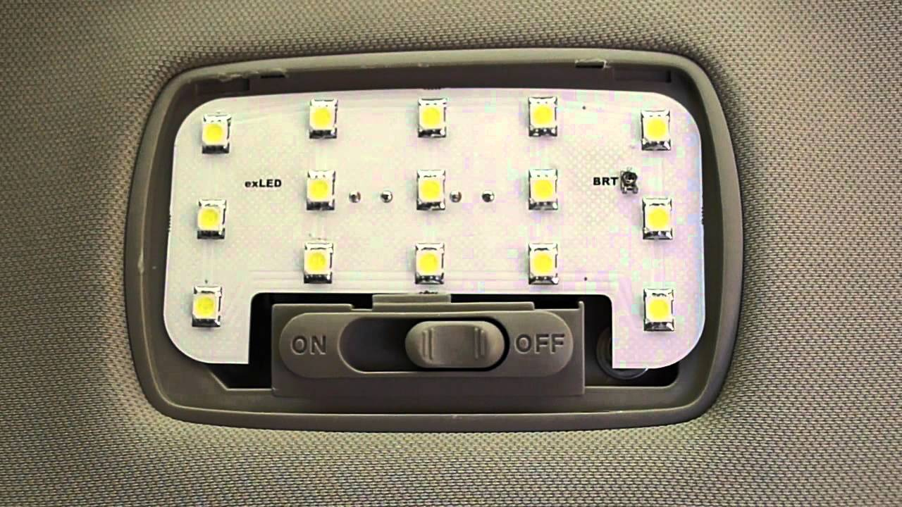 Exled Custom Interior Light Kit Dome Light Acura Tsx Cu2 Cl9 Honda Accord Coupe Civic Youtube