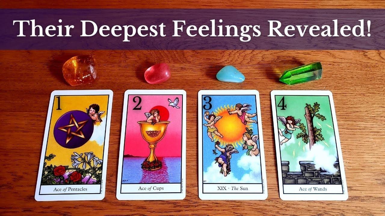 Download THEIR DEEPEST THOUGHTS & FEELINGS 😲 (THE TRUTH REVEALED) 💖💫 Pick A Card Love Tarot Reading