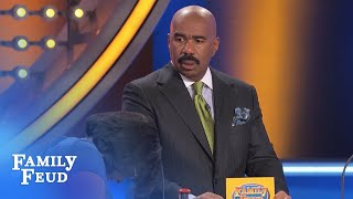 You wanna PIECE OF ME??? | Family Feud