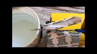 How to mix / mixing wallpaper paste