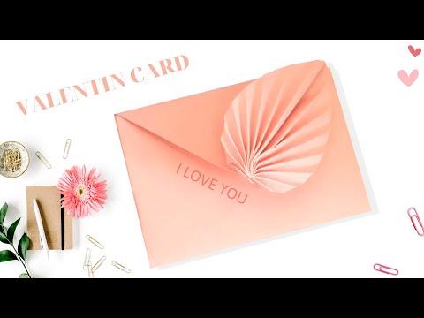 Cách Gấp Chiếc Thiệp Có hình Trái Tim Rất Đẹp # Folding Paper Card # Gấp Xếp Giấy ORIGAMI