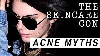 THE SKINCARE CON: BIGGEST ACNE MYTHS & LIES | PSA