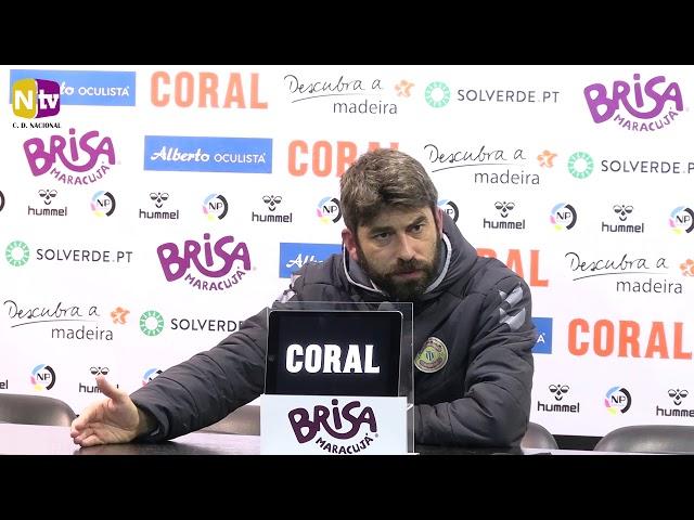 Luís Freire sobre o resultado com o Braga: