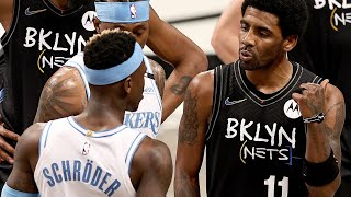 Kyrie Irving Explains Why He Got SO HEATED After Dennis Schröder Called Him The N-Word
