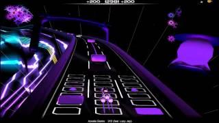 Azealia Banks - 212 (Clean) (Audiosurf)