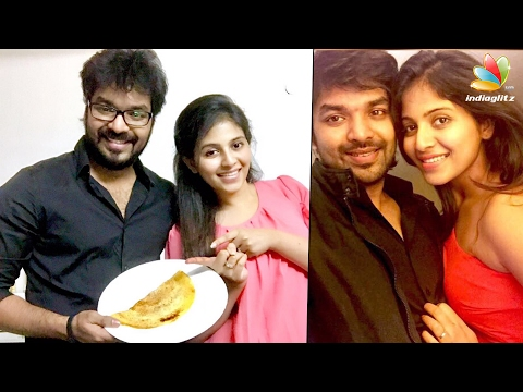 Jai and Anjali confirm their relationship?  Hot Tamil Cinema   Dosa Challenge