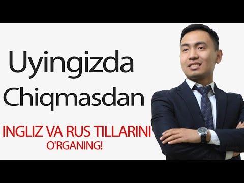INGLIZ VA RUS TILLARINI MASOFADAN TURIB O'RGANISH/ KHB AUDIO KURSLARI