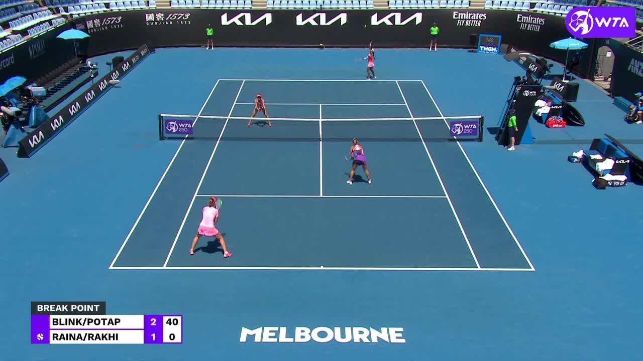 A. Blinkova/A. Potapova vs. A. Raina/K. Rakhimova | 2021 Phillip Island Trophy Doubles Final | WTA M
