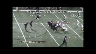 Caleb Teague - Sophomore Season Highlights