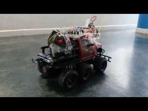 Pi-Car - Autonomous car guided by computer vision