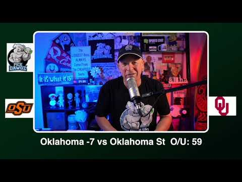Oklahoma vs Oklahoma State 11/21/20 Free College Football Picks and Predictions CFB Tips  Pick Dawgz