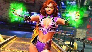 INJUSTICE 2 Starfire Gameplay Trailer (Comic-Con 2017)
