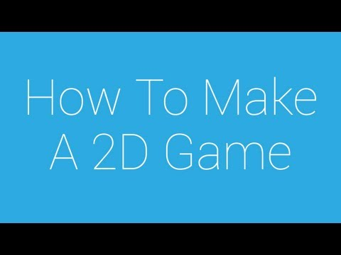 How To Make A 2D Game (Desktop, iOS, Android) - 1 - Intro