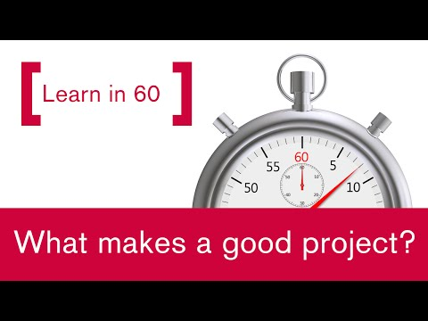 How to select a good Lean Six Sigma project