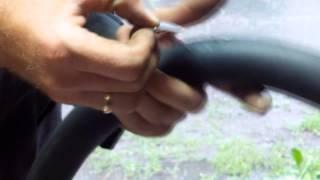 Как заклеить камеру велосипеда(Как ЛЕГКО заклеить камеру велосипеда!, 2014-06-12T11:31:52.000Z)