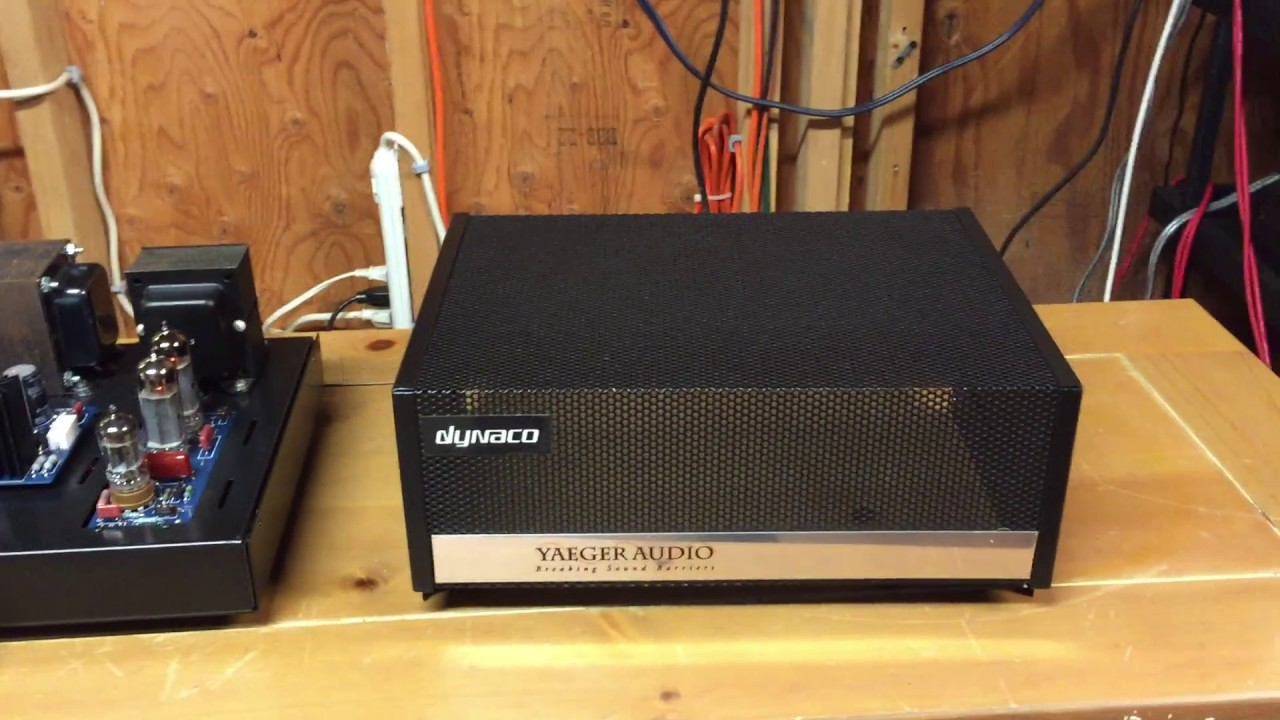 Dynaco ST-35 Custom Build Stereo Amplifier with Original Output  Transformers - Jimmyvp1