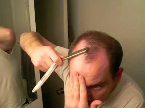 Head Shave With Dovo Straight Razor