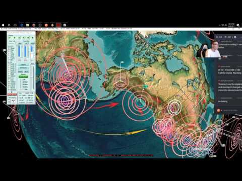 3/29/2017 -- Major earthquake unrest in Pacific -- N.Z. supervolcano, Japan + West Coast USA watch - 동영상