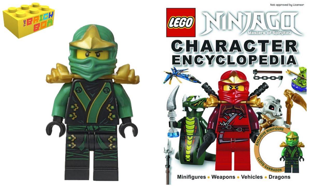 Lego Ninjago Character Encyclopedia Review - YouTube