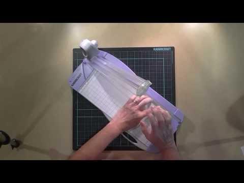 KaiserCraft Paper Trimmer Tutorial Part 1