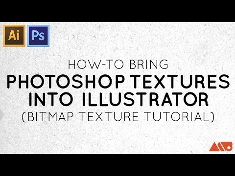How to Bring Photoshop Textures into Illustrator (Bitmap Texture Tutorial) thumbnail