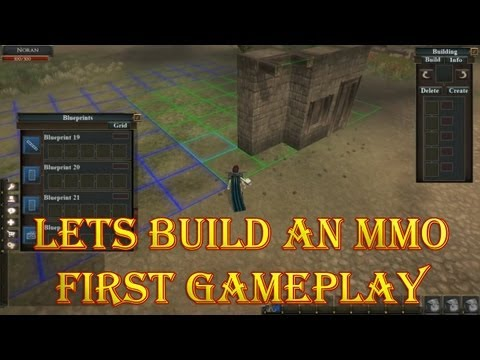Let's Build an MMO First Game Video Fan Designed Land Manage