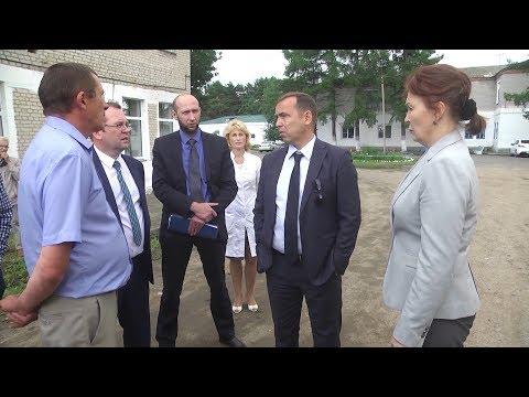 ВРИО губернатора В.Шумков побывал с рабочей поездкой в Катайске