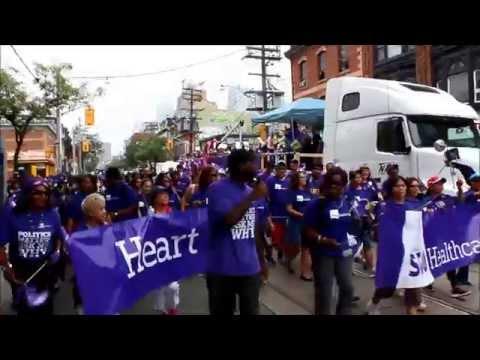 Toronto Labour Day 2014