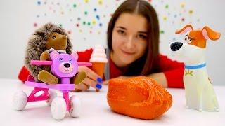 Тайная жизнь животных: видео с игрушками. Про Макса и других. #Игрушки из мультфильмов