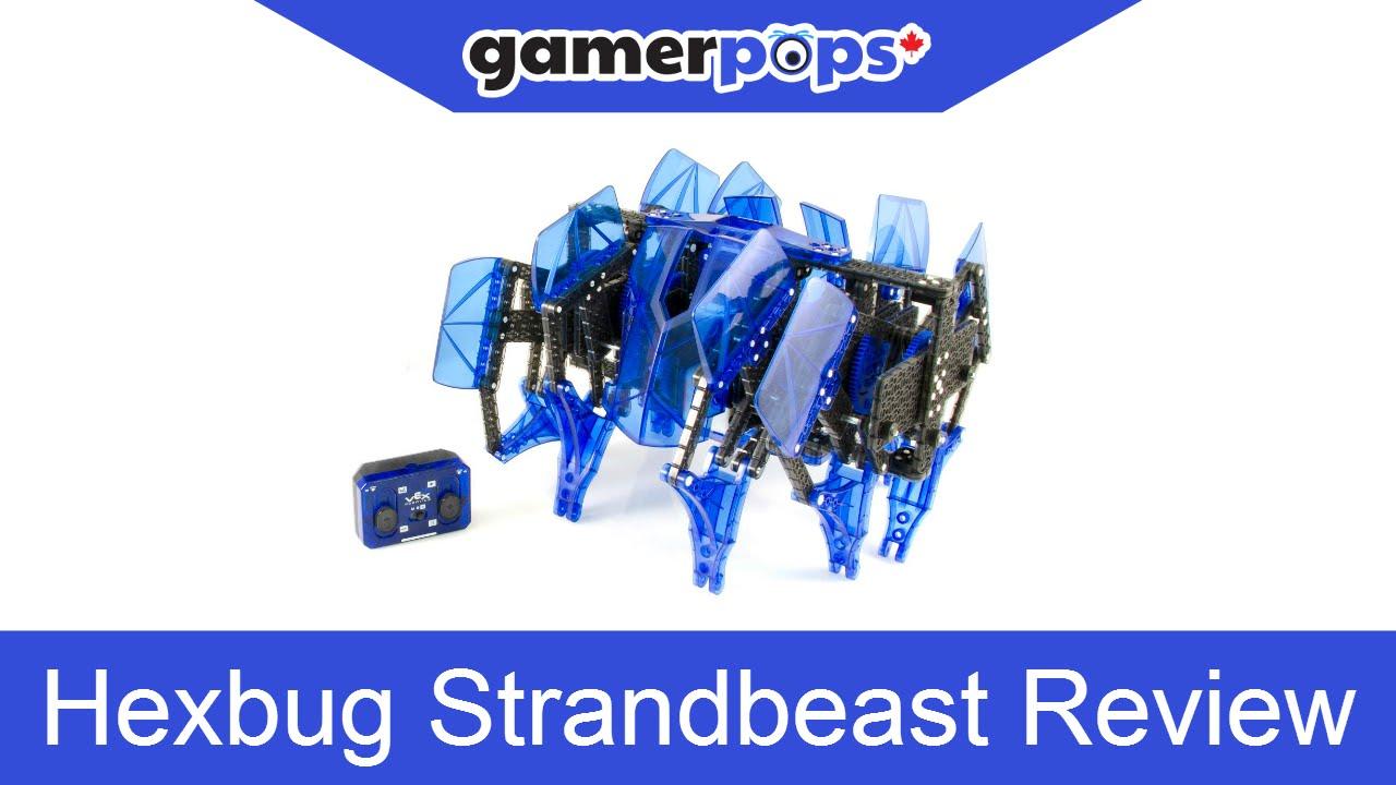 Hexbug Vex Robotics Strandbeast Review Gamerpops Youtube Hexbugcircuitboard14