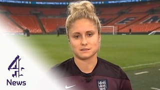 England captain Steph Houghton interview | Channel 4 News
