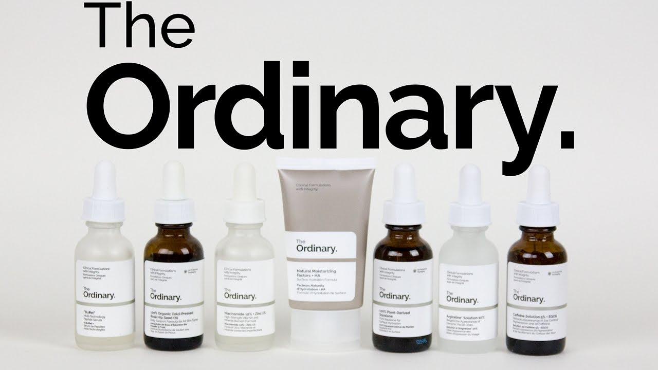 The Ordinary Skincare Review   Deciem   Buffet ...