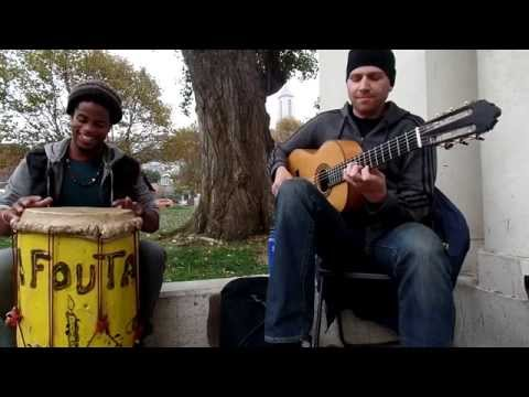 MUST SEE !!!| Flamenco & Haitian Drums| Jeff Pierre - Stephen Duros- Path of light