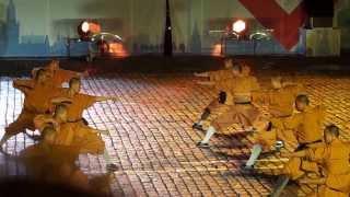 Выступление монахов Шаолиньского монастыря на фестивале
