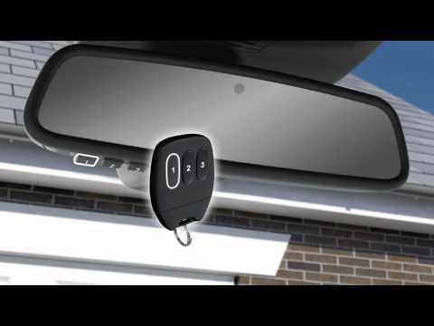 jaguar f pace 2017 garage door opener homelink. Black Bedroom Furniture Sets. Home Design Ideas
