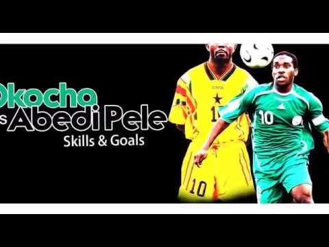 Abedi Pele vs JJ Okocha - (skills & goals)