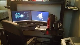 Gaming Setup 2015| Gaming Room | PC Gaming (ASUS ROG G20)
