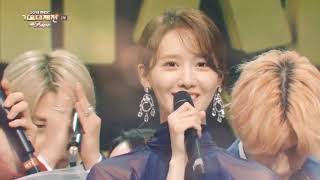 BTS V & SNSD YOONA MBC GAYO DAEJUN MOMENTS MP3