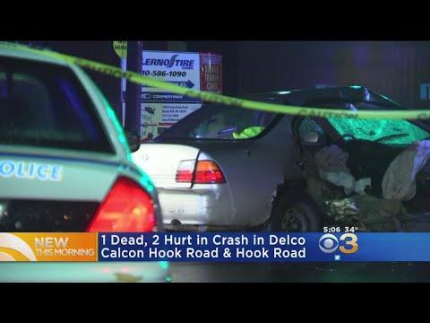 1 Dead, 2 Hurt In Delaware County Crash