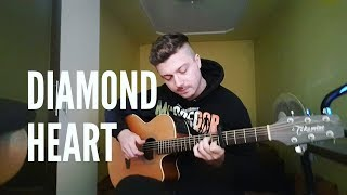 Alan Walker - Diamond Heart ft. Sophia Somajo - Chillout Acoustic Guitar Cover by Nicolaevici Bogdan