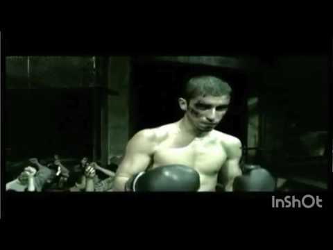 Underground mixed boxing man vs woman