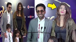 ayushman khurana with wife tahira son virajveer daughter virushka