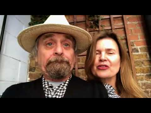 7th Doctor Who Sylvester McCoy and Sophie Aldred wishing my friend a Happy Birthday