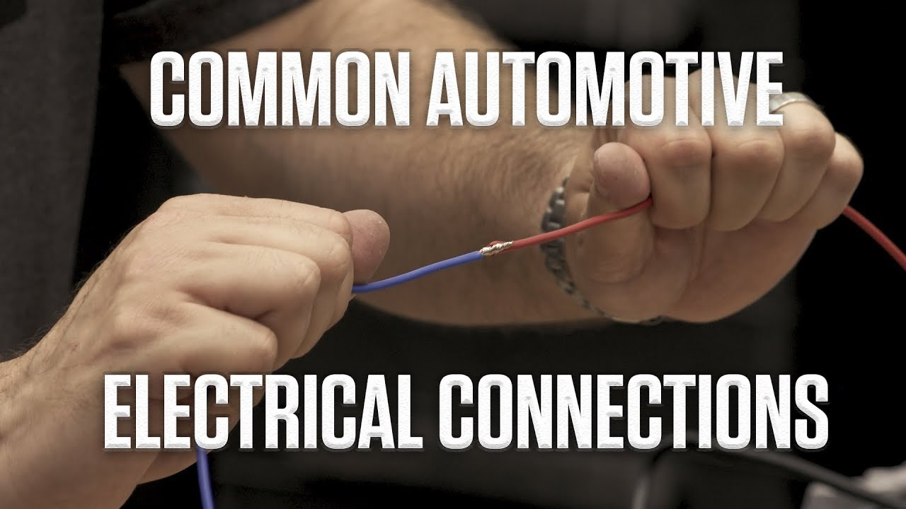 DIY | Guide to Common Automotive Electrical Connections