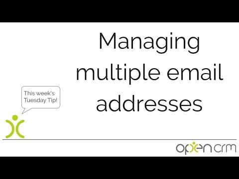 Managing Multiple Email Addresses